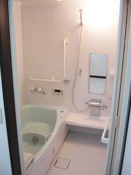 A様邸 浴室バリアフリーリフォーム