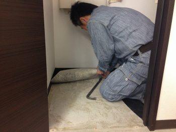 Y様邸 トイレ取替え フルオート機能付きトイレ