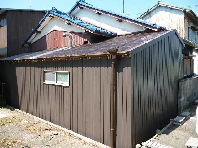 Y様邸 外壁トタン・屋根張替え
