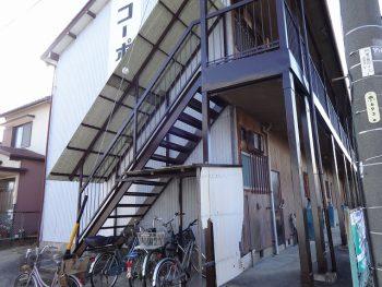 H様邸(コーポ) 部分塗装