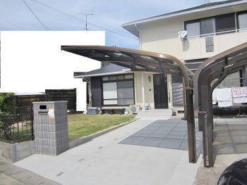 M様邸 駐車場増設・庭改修リフォーム