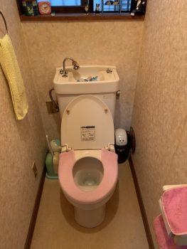 長年使ったトイレ