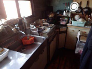 年季の入ったキッチン