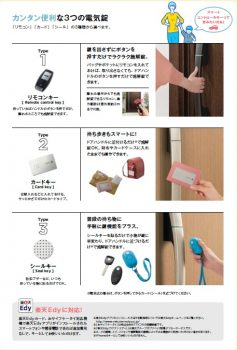 YKK玄関ドア スマートコントロールキー