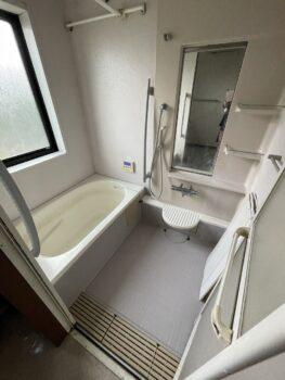 浴室リフォーム ユニットバスの取替えをします